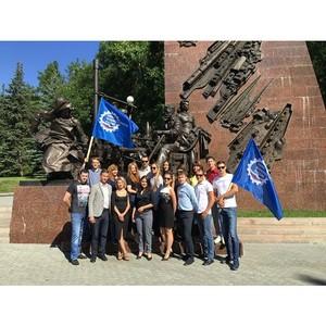Память о подвигах героев жива: в Уфе прошла акция «Память о войне»