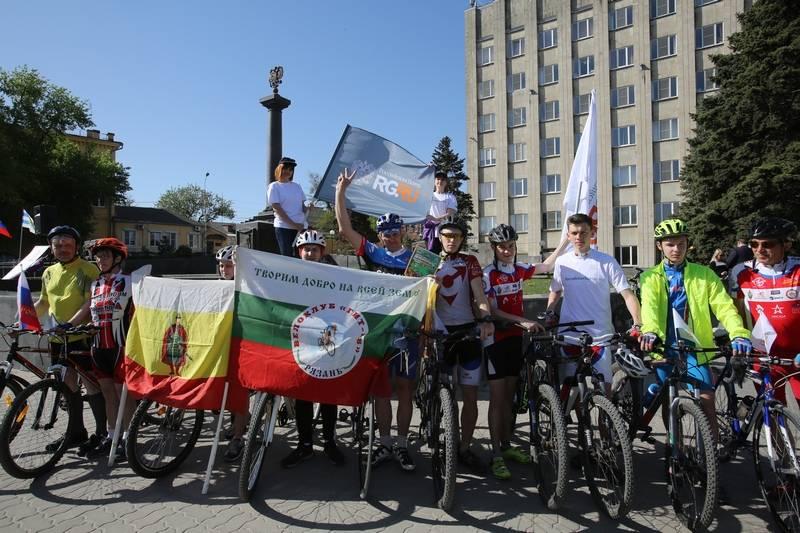 Докатились до Ставрополья — Всероссийский веломарш РГ набирает обороты