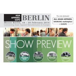 Торговая выставка Asia Apparel Expo пройдет в Messe Berlin