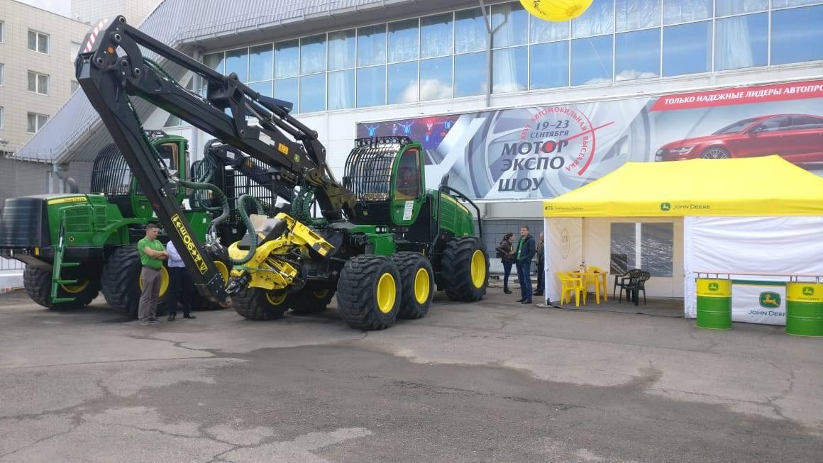 Компания Интерлизинг приняла участие в выставке «Эксподрев» в Красноярске