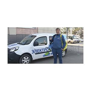 Польский путешественник получил в Кузбассе карту «инновационного водителя» МРСК Сибири