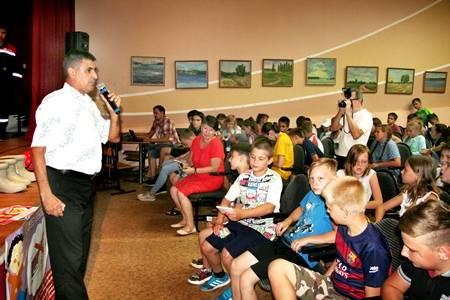 В Детском оздоровительном центре «Ровесник» прошёл урок электробезопасности