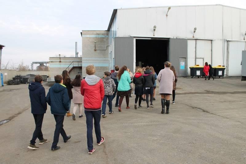 В Мордовии организовали для сельских школьников экскурсию в рамках акции «Неделя в профессии»