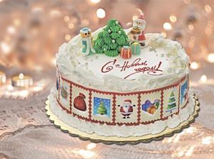 «Баскин Роббинс» готовит к Новому году коллекцию тортов