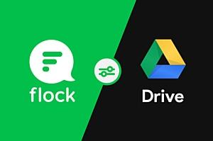 Командный мессенджер Flock интегрировал Google Drive в свой интерфейс