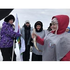 Активисты ОНФ в Югре провели экологическую акцию в День зимней рыбалки