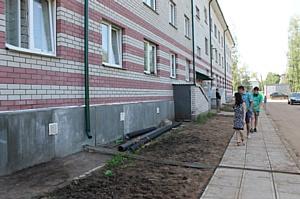 Активисты ОНФ держат на контроле устранение проблем в доме для переселенцев в Кирове