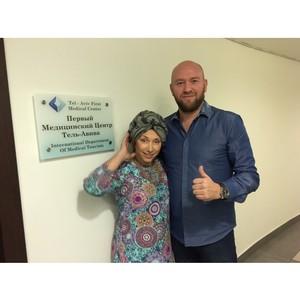 Елена Воробей посетила Первый медицинский центр Тель-Авива с дружеским визитом