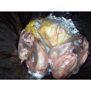 В ручной клади пассажира из Азербайджана выявлена опасная животноводческая продукция