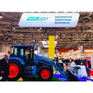«Газпром газомоторное топливо» принял участие в агропромышленной выставке «Золотая осень – 2018»