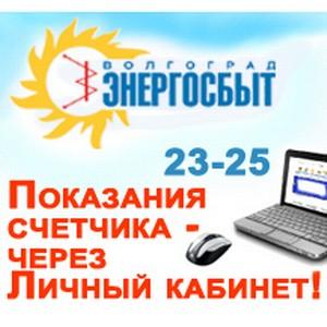 ПАО Волгоградэнергосбыт: С начала 2015 г. через сайт передали данные счетчика 8 тысяч потребителей
