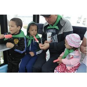 Татарстанская многодетная семья провела свой выходной с ТНВ