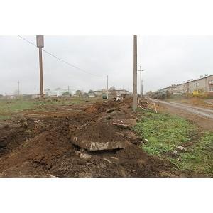 ОНФ в Оренбургской области добивается решения коммунальных проблем в поселке Красногвардеец