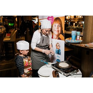 Food Market 21 на Новом Арбате открыл детскую кулинарную школу