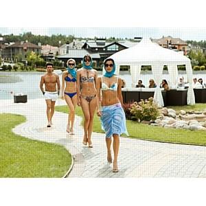 В поселке «Гринфилд» открылся пляж в традициях лучших итальянских курортов