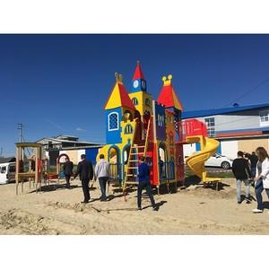 Активисты Народного фронта оценили темп работ на объектах благоустройства в Салехарде