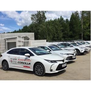 Филиал «Балтийского лизинга» выступил партнером тест-драйва модельного ряда Toyota в Екатеринбурге