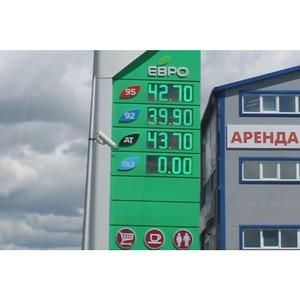 Активисты ОНФ в Курганской области ведут мониторинг цен на топливо в регионе