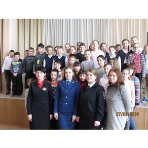 Полицейские провели профилактические встречи с зеленоградскими школьниками