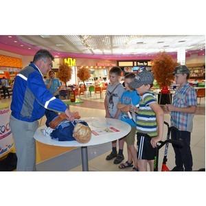 Специалисты Костромаэнерго провели занятие по электробезопасности для детей в торговом центре