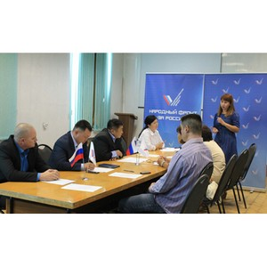 Активисты ОНФ обсудили результаты мониторинга качества капитального ремонта в Туве