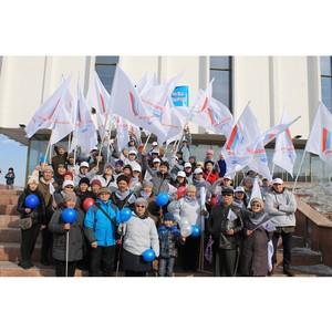 ОНФ в Туве принял участие в митинге, посвященном воссоединению Крыма и Севастополя с Россией