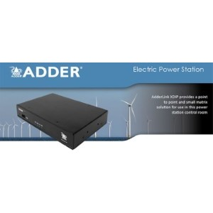 AdderLink XDIP - IP KVM удлинители дл¤ оснащени¤ электростанций