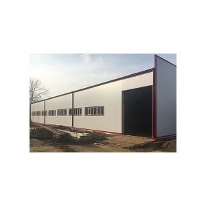 Возведен однопролетный склад шириной 30 метров в Московской области