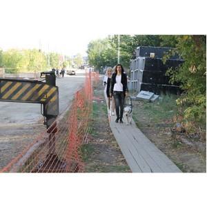 Активисты ОНФ провели мониторинг доступности городской среды на улицах Самары