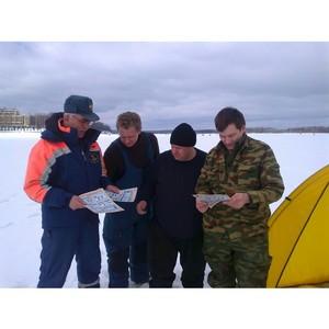 В Московской области снижается количество несчастных случаев на льду водоёмов