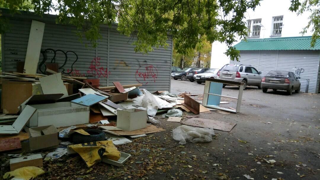 Активисты ОНФ добиваются ликвидации свалки на территории медицинского учреждения в Кирове