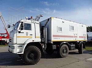Комплексная безопасность — 2017: Колесный вездеход МПЗ на службе МЧС России
