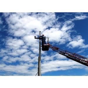 Удмуртэнерго повышает надежность электроснабжения потребителей п. Балезино Удмуртской Республики