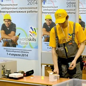 WorldSkillsRussia: 2014 IEK помогает поднимать профессионализм электромонтажников до мирового уровня