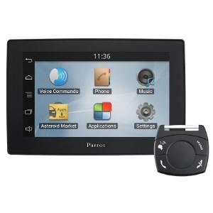 Первый автомобильный планшет Parrot Asteroid Tablet: полноценная система на базе Android