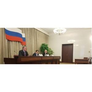 Заседание рабочей группы президиума Госсовета РФ по вопросу развития инфраструктуры Каспийского региона