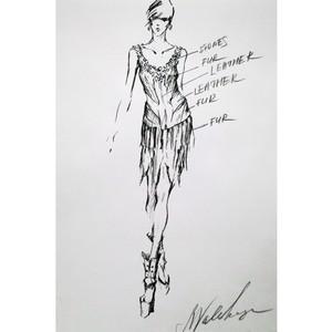 Платье для NAFA от Натальи Валевской
