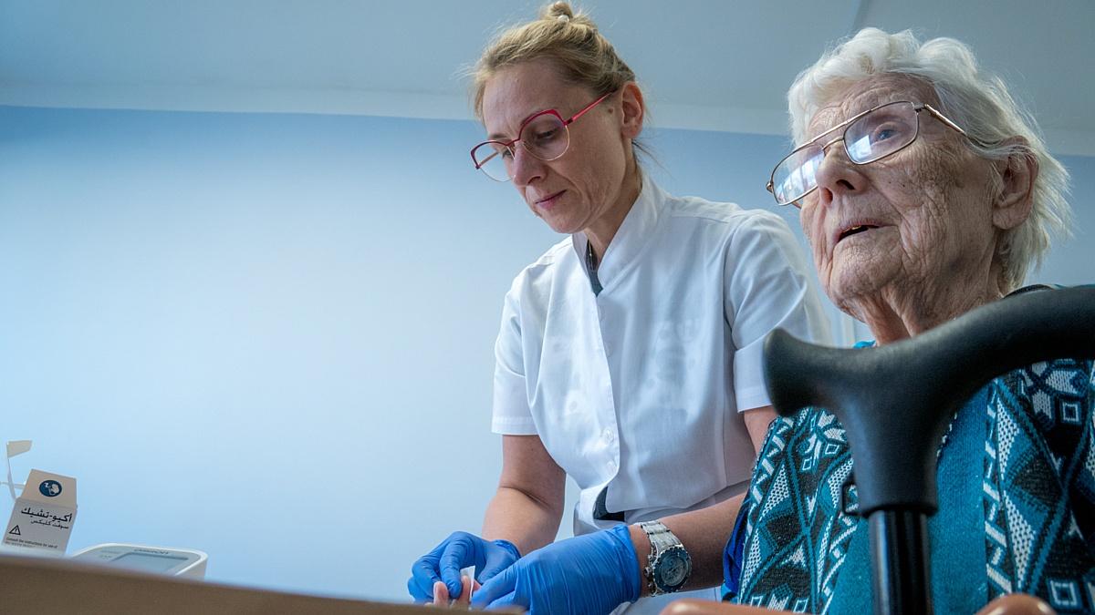 Волонтеры-медики МЕДСИ провели приемы в Шиловском доме-интернате Рязанской области