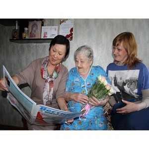«Кузбассэнергосбыт» поздравил ветеранов с 71-й годовщиной победы в Великой Отечественной войне