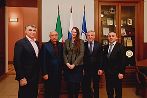 Ректор КФУ встретился с делегацией Республики Дагестан