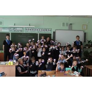 Амурские активисты ОНФ организовали для школьников мастер-класс по изготовлению фликеров