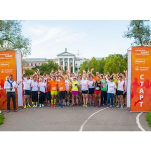 В Москве состоялся второй городской забег в поддержку здорового образа жизни