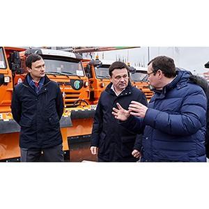 «Мосавтодор» получил первую партию новой дорожной техники