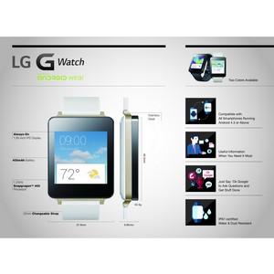 LG выпускает своё первое носимое устройство на Android wear