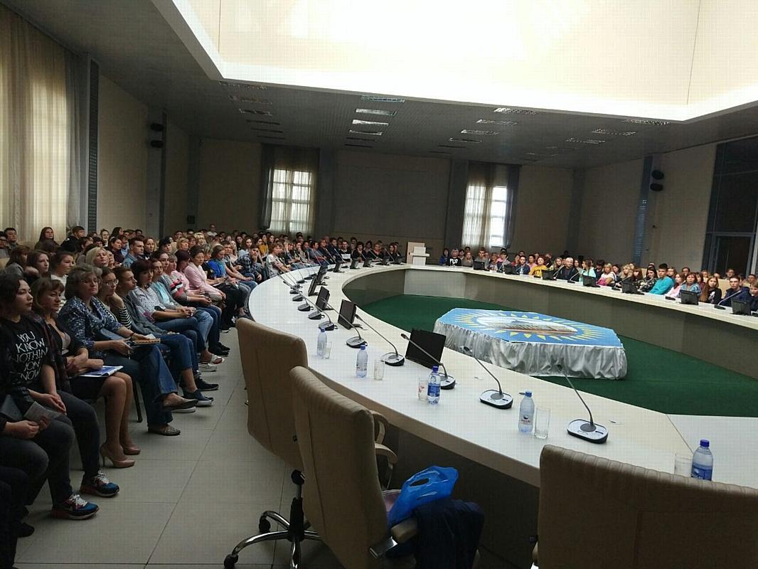 Представители Рубцовского филиала приняли участие в масштабной профориентационной акции в Казахстане