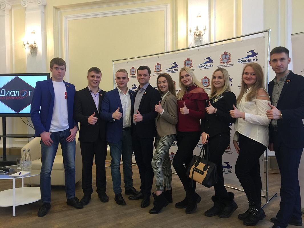Студенты РАНХиГС приняли участие во встрече с врио губернатора Глебом Никитиным