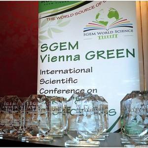 Ученые САЕ «ЭкоНефть» успешно выступили на Международной научной конференции SGEM Vienna GREEN 2017