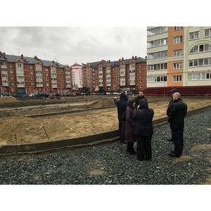 Активисты Народного фронта в Ямало-Ненецком округе провели рейд по объектам проекта благоустройства