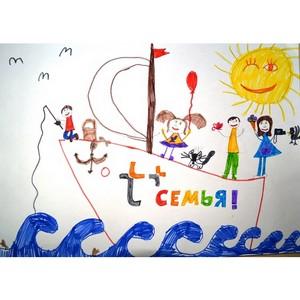 Филиал «Марий Эл и Чувашии» Т Плюс подвел итоги конкурса детского рисунка «Энергия с плюсом»