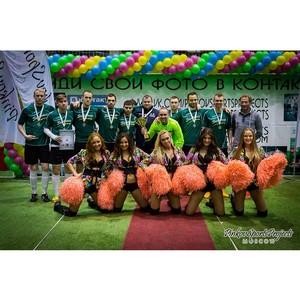 «ТаксовичкоФ» в Первом Всероссийском турнире по мини-футболу «Кубок Такси»
